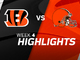 Watch: Bengals vs. Browns highlights | Week 4
