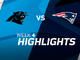 Watch: Panthers vs. Patriots highlights | Week 4