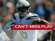 Watch: Can't-Miss Play: Philip Rivers connects DEEP with Tyrell Williams