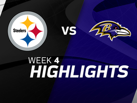 Steelers vs. Ravens highlights | Week 4