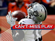 Watch: Can't-Miss Play: Derek Carr heaves 64-yard bomb to Johnny Holton for TD