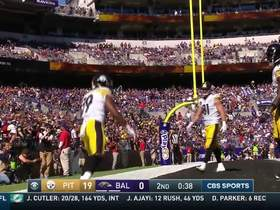 Steelers show off two-minute drill skills at the end of the first half