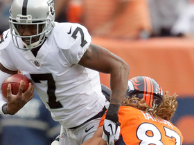 Marquette King attempts fake punt, Broncos special teams sniffs it out