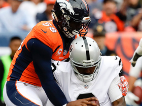 Von Miller blows by Marshall Newhouse to sack E.J. Manuel