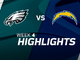 Watch: Eagles vs. Chargers highlights | Week 4