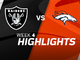 Watch: Raiders vs. Broncos highlights | Week 4