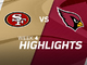 Watch: 49ers vs. Cardinals highlights | Week 4