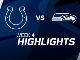 Colts vs. Seahawks highlights | Week 4