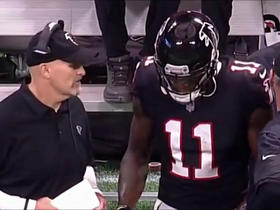 Ian Rapoport: Falcons removed Julio Jones from game vs. Bills as a 'precaution'