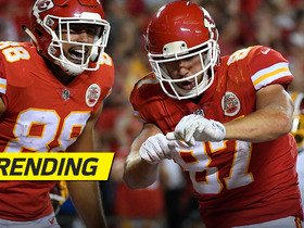 Travis Kelce knows how to celebrate