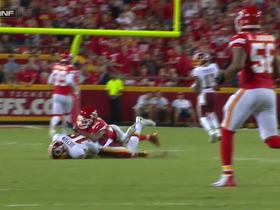 Josh Doctson lays all the way out for 20-yard pick-up