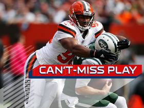 Can't-Miss Play: Myles Garrett gets sack on first career snap