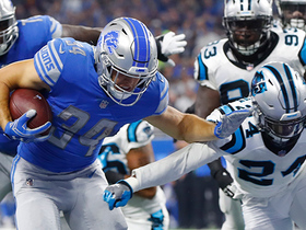 Zach Zenner turns tackle-for-loss into Lions' touchdown
