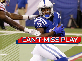 Can't-Miss Play: T.Y. Hilton makes a tip-toe grab down the sideline