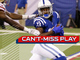 Watch: Can't-Miss Play: T.Y. Hilton makes a tip-toe grab down the sideline