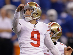 Robbie Gould nails a 43-yarder to tie it at the half