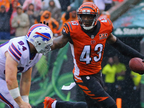 George Iloka puts the exclamation point win over Bills with INT