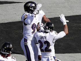 Jimmy Smith returns Jared Cook fumble for touchdown