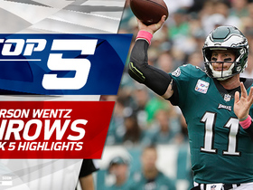 Carson Wentz's top five throws | Week 5