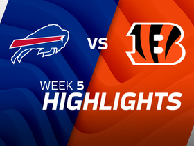 Bills vs. Bengals highlights | Week 5