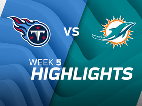 Titans vs. Dolphins highlights | Week 5