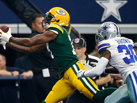 Davante Adams takes it to the house against the Cowboys
