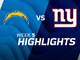 Watch: Chargers vs. Giants highlights | Week 5