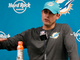 Watch: Adam Gase: 'We're not going to take public polls' on QB decision