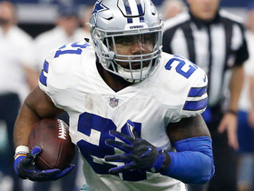 Watch: Ezekiel Elliott bounces outside for 25 yards on the run