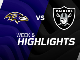 Ravens vs. Raiders highlights | Week 5