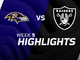 Watch: Ravens vs. Raiders highlights | Week 5