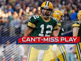 Watch: Can't-Miss Play: Rodgers throws pinpoint game-winning TD to Adams