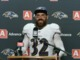 Watch: Eric Weddle after win: 'I get to smash some ice cream tonight'