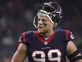Ian Rapoport: J.J. Watt out for the season with tibial plateau fracture