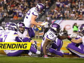 Vikes break out 'Duck, Duck, Goose' celebration after Rudolph's TD