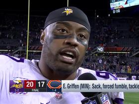Everson Griffen explains preparation for Mitchell Trubisky