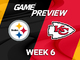 Watch: Steelers vs. Chiefs Week 6 game preview