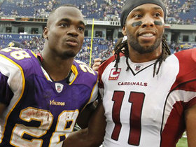 Omar Ruiz: Adrian Peterson living at Larry Fitzgerald's house