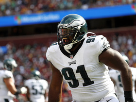 Eagles will play without Fletcher Cox and Lane Johnson