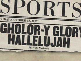 Tomorrow's headlines today: Agholor-y Glory Hallelujah