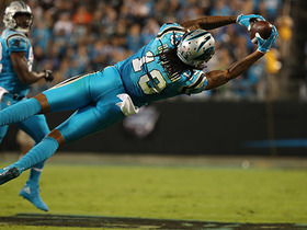 Kelvin Benjamin goes horizontal on spectacular diving catch