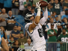 Zach Ertz gets UP for his second TD of the night