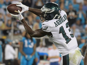 Watch: Nelson Agholor hits turbo mode to make this TD look easy
