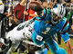 Watch: Cam Newton goes full Superman on epic dive for goal line