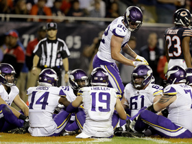 Kyle Rudolph talks touchdown celebrations, NFC North, Case Keenum