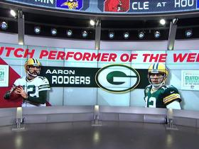 Week 5: Aaron Rodgers wins Castrol EDGE Clutch Performer
