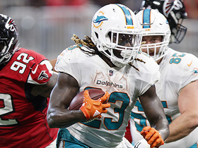 Jay Ajayi finds running room and cuts upfield for 18-yard gain