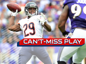 Can't-Miss Play: Trick play! RB Tarik Cohen throws perfect TD pass