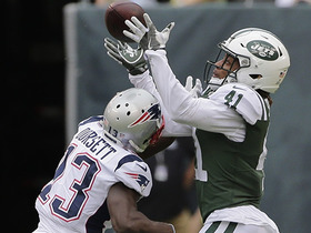 Buster Skrine makes impressive INT over Phillip Dorsett