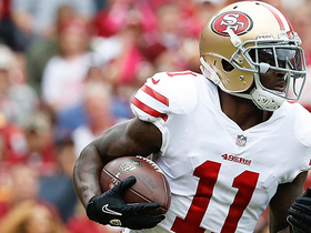 Marquise Goodwin leaps up, comes down with huge first-down catch